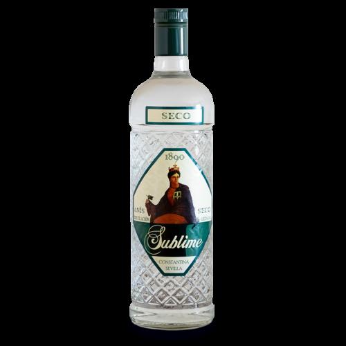 Botella de Anís Seco 1890 Sublime