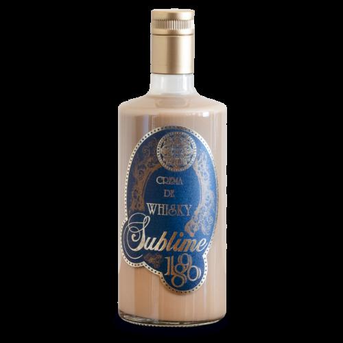 Botella de Crema de whiskey 1890 Sublime
