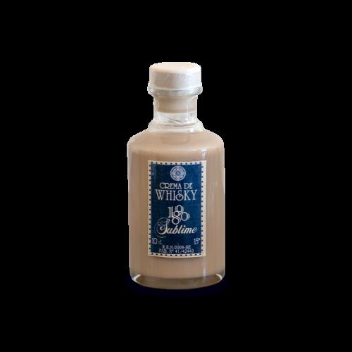 Botella miniatura de crema de whiskey 1890 Sublime