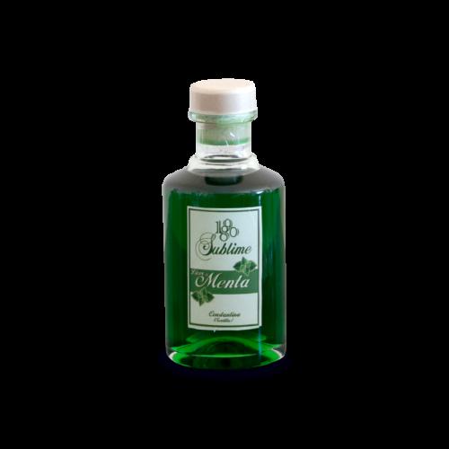 Botella miniatura de Licor de menta 1890 Sublime