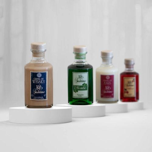 Botellas miniatura del pack 1890 Sublime de Destilerías de Constanina