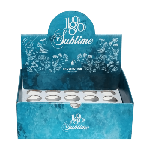 Caja del pack de botellas en miniatura de Destilerías de Constantina